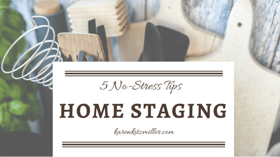 5 No-Cost Home Staging Tips