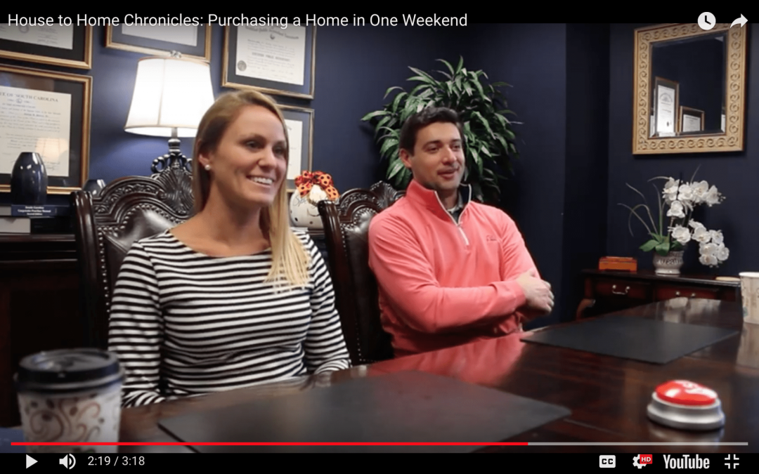 House to Home Chronicles: Purchasing a Home in One Weekend