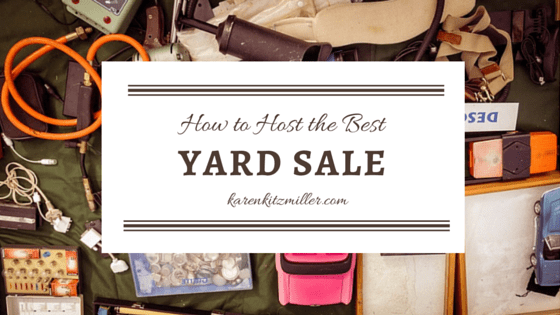 How to Host a No-Fail Yard Sale